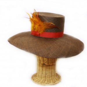 pamela-marron-con-aplicacion-de-plumas-color-teja-de-cloudress